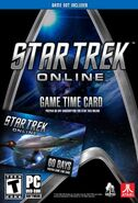 Star Trek Online game time card