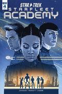 Star Trek Starfleet Academy, issue 4 RI