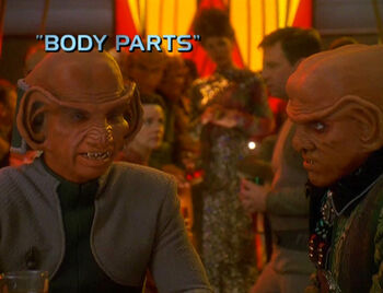 Body Parts title card
