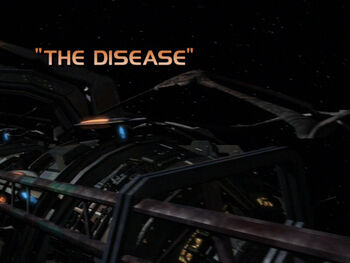 The Disease title card
