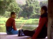 Benjamin und Jake reden über Deep Space 9