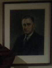 Dixon Hill FDR painting