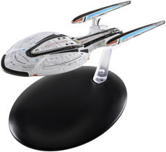 Eaglemoss USS Enterprise NCC-1701-F STO version