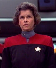Geneviève Bujold as Nicole Janeway