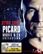 Picard Movie & TV Collection cover (UK)