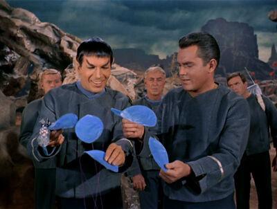 Spock Pike planta cantora talosiana