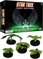 Star Trek Fleet Captains Romulan Empire Expansion Pack