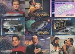 Voyager - Season One, Series One Trading Card 9 Card Panel