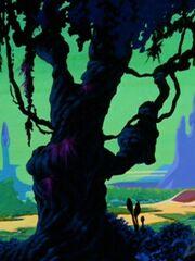 Baum auf Phylos