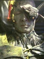 Borg-Drohne auf Kubus 1