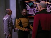 Picard und La Forge auf Ventax II