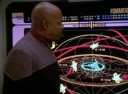 Sisko outlines operation return