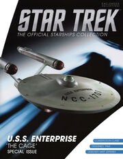 Star Trek Official Starships Collection USS Enterprise The Cage cover