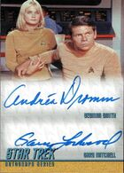 Star Trek The Original Series - 40th Anniversary Series 2 card DA15