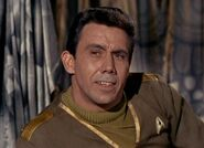 Starfleet officer at Orion colony