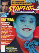 Starlog issue 146 cover