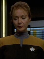 Weiblicher Transporterchief Voyager 2372 2373