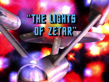 The Lights of Zetar title card