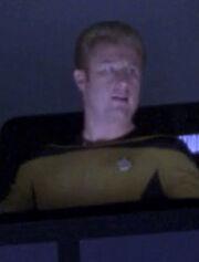 Besatzungsmitglied Shuttle Enterprise-D 2366 Sternzeit 43125