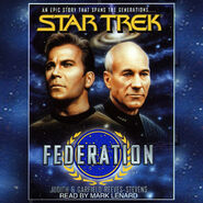 Federation audiobook cover, digital edition
