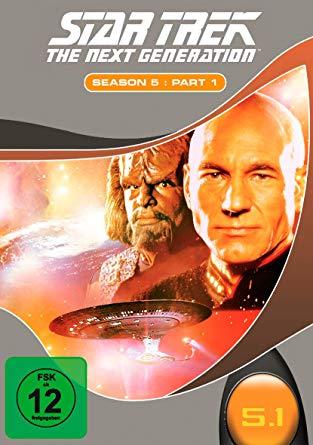 TNG Staffel 5-1 DVD