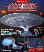 The Official Star Trek The Next Generation Build the Enterprise-D issue 1 box