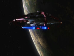 USS Sutherland at Starbase 234