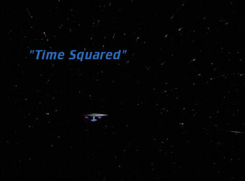 Time Squared title card