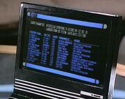 Desktop monitor, Earth starships, Up the Long Ladder