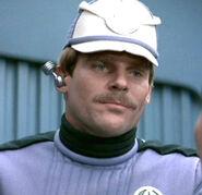 Human Starfleet prison guard 2