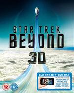 Star Trek Beyond Blu-ray 3D Region B cover
