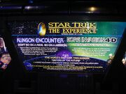 Star Trek The Experience sign