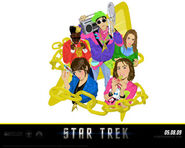 Startrek (film) exclusive wallpaper 2