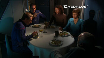 Daedalus title card