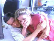 Chakotay und Janeway rücken im Sturm enger zusammen