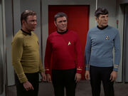 Kirk, Scott, and Spock, 2269