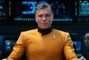 Pike on the Enterprise, 2258