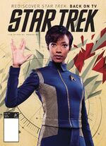 Star Trek Magazine US issue 66 PX cover