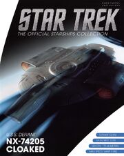 Star Trek Official Starships Collection USS Defiant NX-74205 Cloaked cover