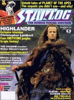 Starlog issue 105 cover