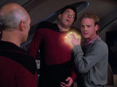 T'Jon paralysiert Riker