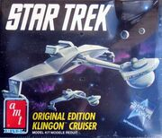 AMT Model kit 6743 Klingon Cruiser 1991