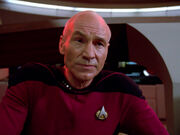 Picard intoxicated