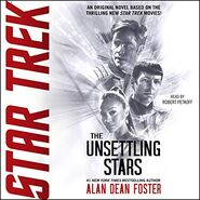 Unsettling Stars audiobook cover
