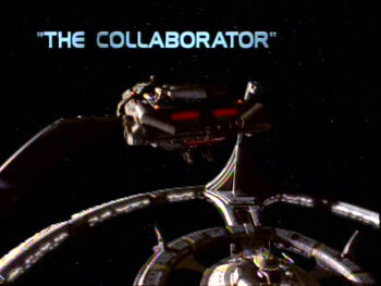 The Collaborator title card