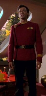 Ian Troi in seiner Uniform