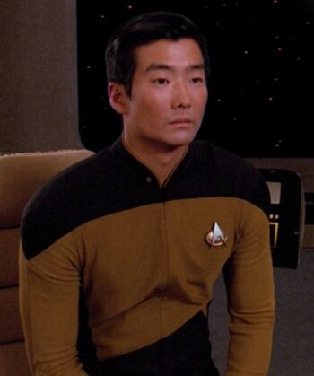 ... as <i>Enterprise</i>-D ensign