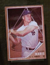 Roger maris trading card