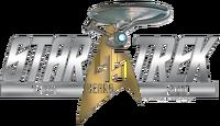 Star Trek 45th anniversary logo