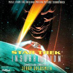 Star Trek Insurrection Soundtrack Cover